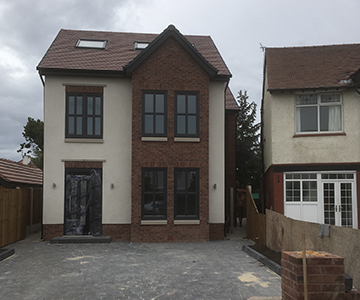 New Build Detached House Liverpool
